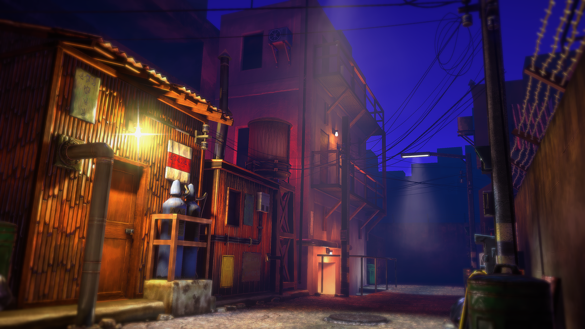Alley (Unity)